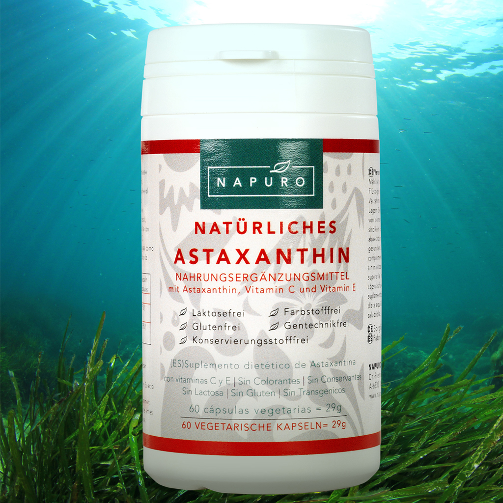Astaxanthin 4mg Kapseln Nature